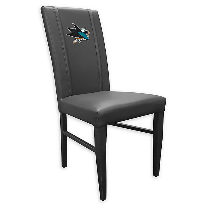 Alternate image 1 for NHL San Jose Sharks Side Chair 2000