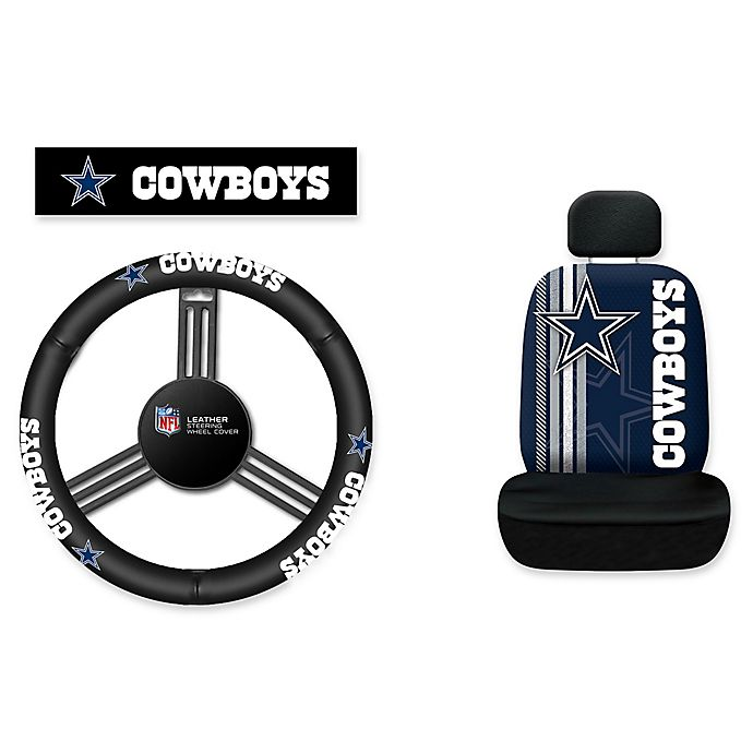 Fabulous Nfl Dallas Cowboys Rally Seat Cover And Leather Steering Alphanode Cool Chair Designs And Ideas Alphanodeonline