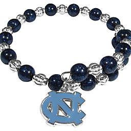 University of North Carolina Metal Logo Pendant Bracelet