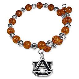Auburn University Metal Logo Pendant Bracelet