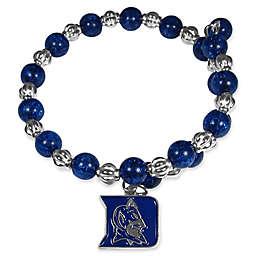 Duke University Metal Logo Pendant Bracelet