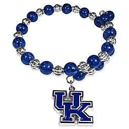 University of Kentucky Metal Logo Pendant Bracelet