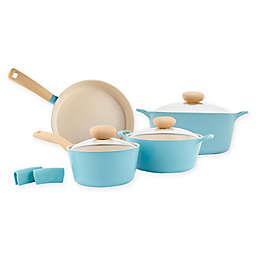 Neoflam® Retro Ceramic Nonstick Cast Aluminum 7-Piece Cookware Set