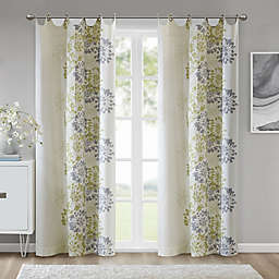 Madison Park™ Anaya Cotton 63-Inch Grommet Top Window Curtain Panel