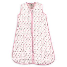 Hudson Baby® Size 0-6M Sheep Cotton Muslin Sleeping Bag in Light Pink