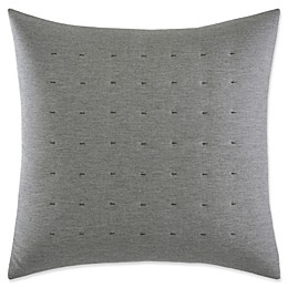 Vera Wang™ Tuille Floral Tufted Square Throw Pillow in Grey