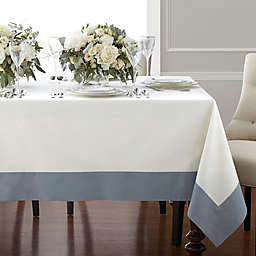 Wamsutta® Bordered Linen Tablecloth