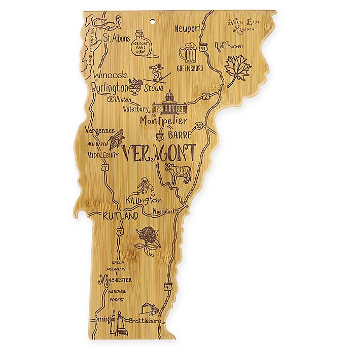 Alternate image 1 for Totally Bamboo® Vermont Destination Cutting Board