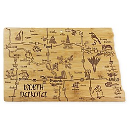 Totally Bamboo® North Dakota Destination Cutting Board