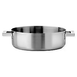 MERPA Stile Nonstick Stainless Steel 2-Handle Frying Pan