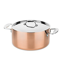 MEPRA Toscana Covered Copper Casserole