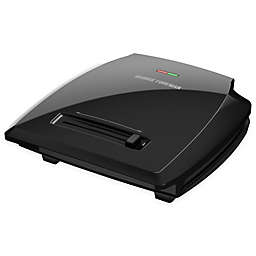 George Foreman 8-Serving Variable Temperature Grill in Black