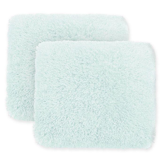 Alternate image 1 for Boho Living Daisy Shag Square Decorative Pillows (Set of 2)