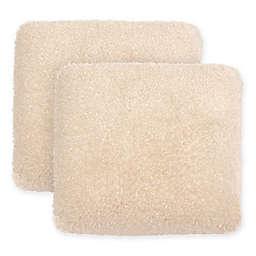 Boho Living Daisy Shag Square Decorative Pillows (Set of 2)