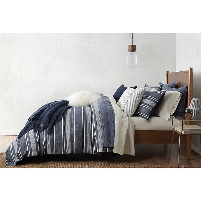 Alternate image 1 for UGG® Bayside Reversible Duvet Cover