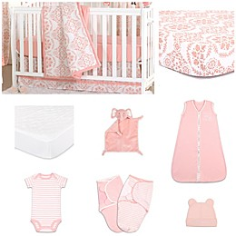 The Peanut Shell® Medallions Crib Bedding Collection