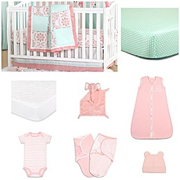 The Peanut Shell® Pretty Patch Medallion Crib Bedding Collection