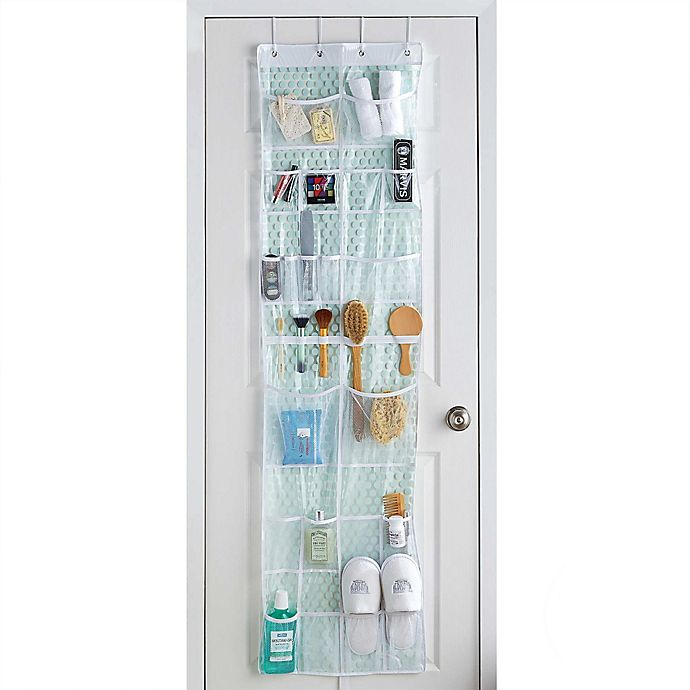 Door Mesh Pocket Storage Organizer