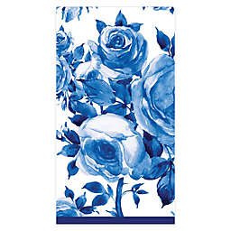 C.R. Gibson® 16-Count Blue Rose Paper Guest Towels
