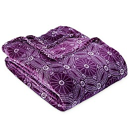 Berkshire Blanket® VelvetLoft® Dot Floral Blanket