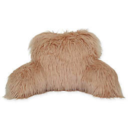 Flokati Faux Fur Backrest in Blush