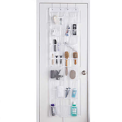 Over-The-Door Mesh Pocket Storage Organizer