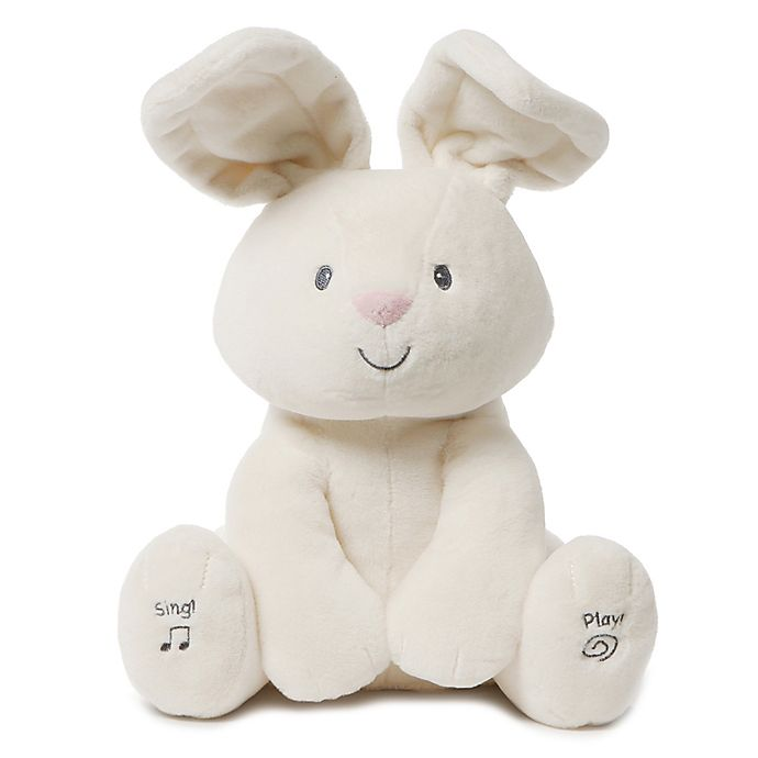 Alternate image 1 for GUND® Flora The Animated Bunny Plush Toy