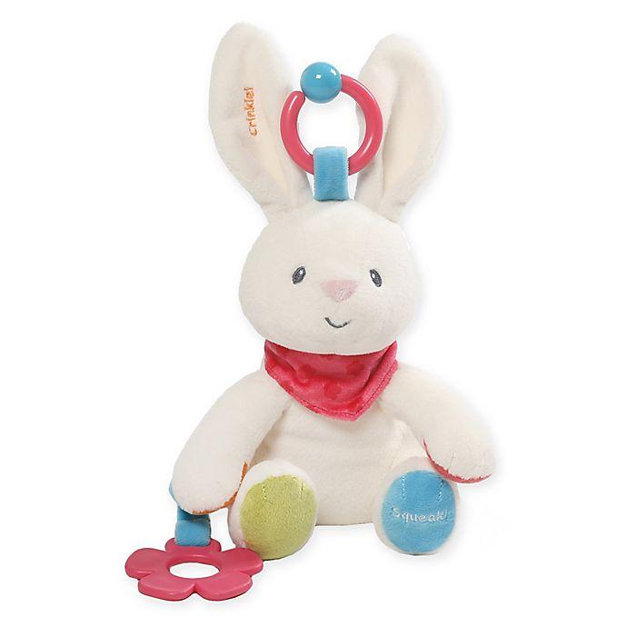 Alternate image 1 for GUND® Flora Bunny Plush Activity Toy