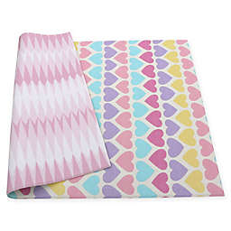 BABY CARE™ Reversible Hearts Playmat in Pink