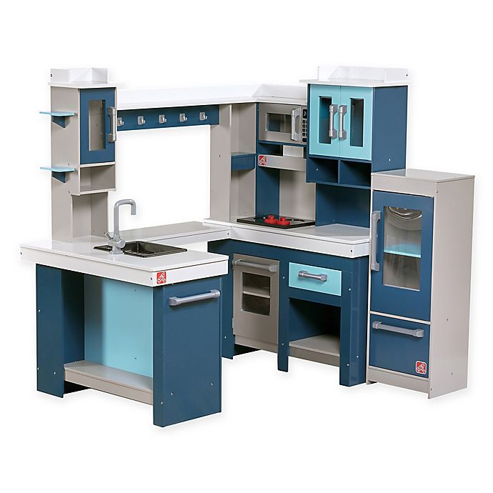 Alternate image 1 for Step2® Grand Walk-In Wood Kitchen