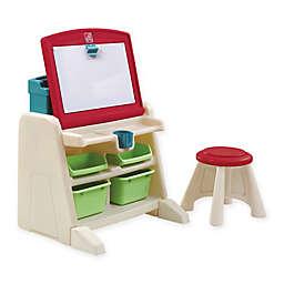 Step2® Flip & Doodle Easel Desk with Stool