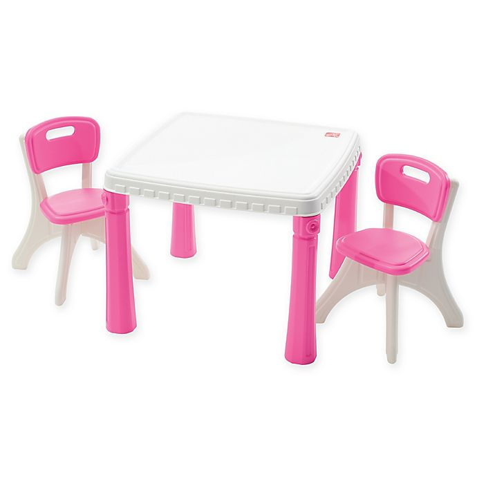 Step2® LifeStyle Kitchen Table and Chairs Set in Pink ...