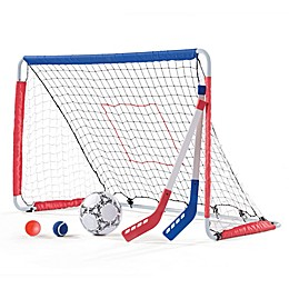 Step2® Kickback Soccer Goal and Pitch Back
