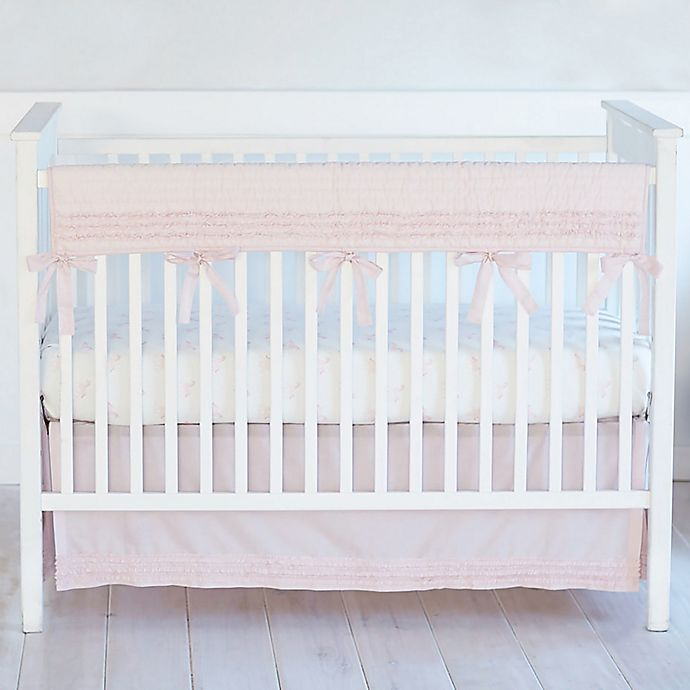 Alternate image 1 for Hello Spud Petite Ruffles Long Rail Guard in Pink