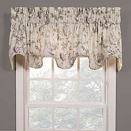 Abigail Scalloped Valance in Lilac