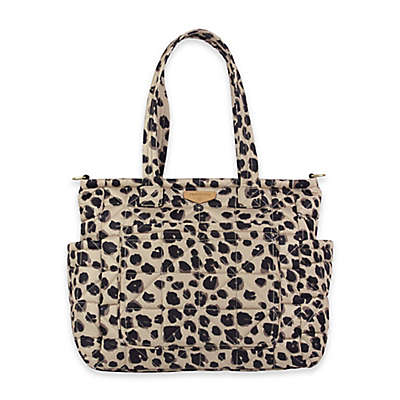 TWELVElittle Carry Love Tote Diaper Bag in Leopard