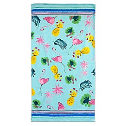 Dena™ Home Flamingo Toss Beach Towel