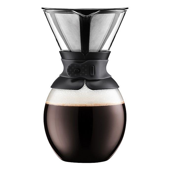 Bodum Pour Over Coffee Maker Bed, Bodum Pour Over Glass Coffee Maker