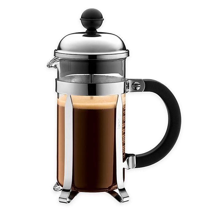 Alternate image 1 for Bodum® Chambord French Press Coffee Maker in Chrome
