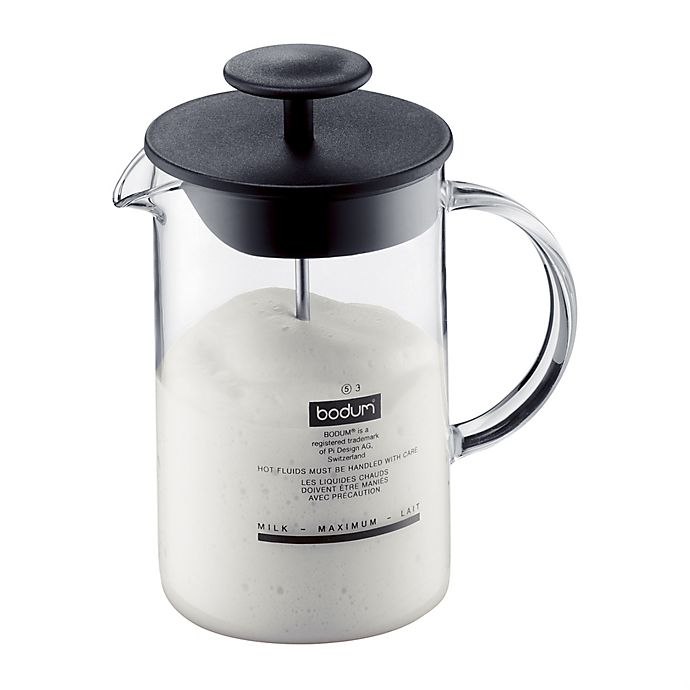 Bodum 174 Chambord Milk Frother In Black Bed Bath And