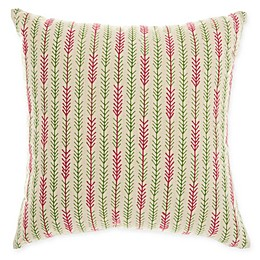 Mina Victory By Nourison Arrow Tails Sqaure Throw Pillow in Nautral