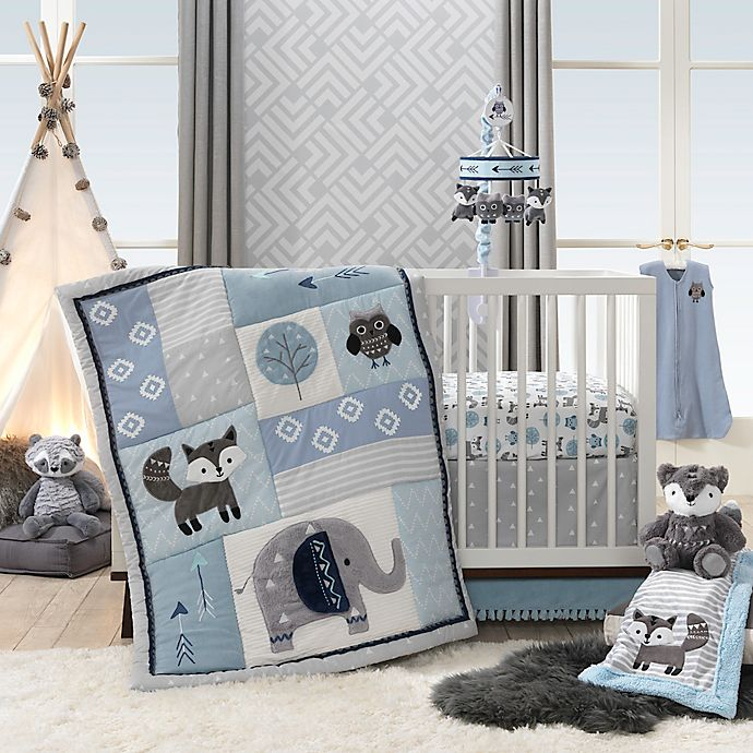 Alternate image 1 for Lambs & Ivy® Stay Wild Crib Bedding Collection