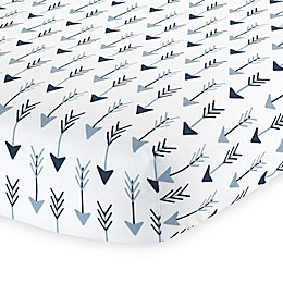 Lambs & Ivy® Stay Wild Arrow Print Fitted Crib Sheet