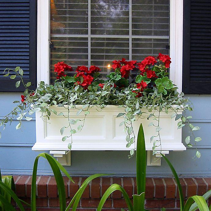 Alternate image 1 for Mayne Fairfield 3-Foot Window Box in White