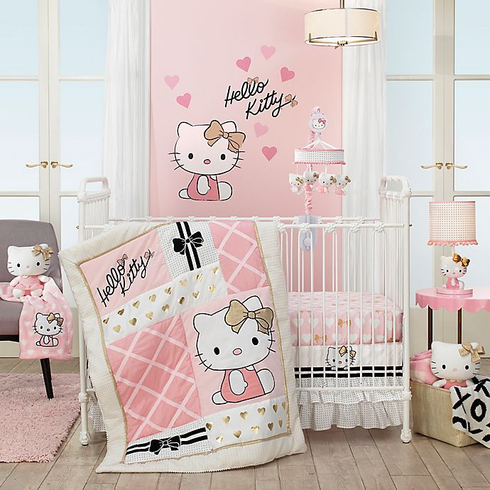 Alternate image 1 for Hello Kitty® Crib Bedding Collection