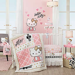 Hello Kitty® 3-Piece Crib Bedding Set