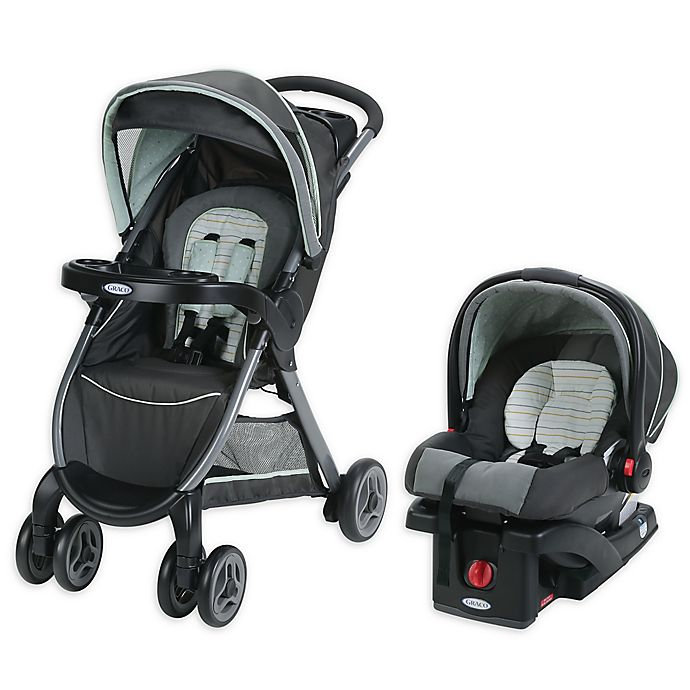 Alternate image 1 for Graco® FastAction™ Fold Click Connect™ Travel System