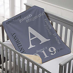All About Baby Sherpa Blanket