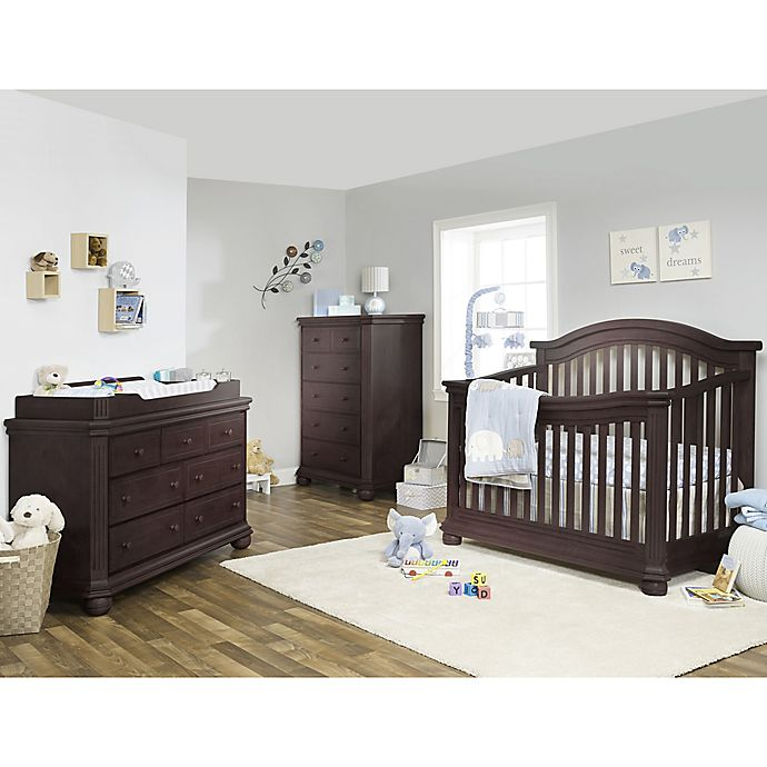 Sorelle Vista Elite Nursery Furniture Collection In Espresso