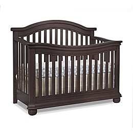 Sorelle Vista Elite 4-in-1 Convertible Crib in Espresso
